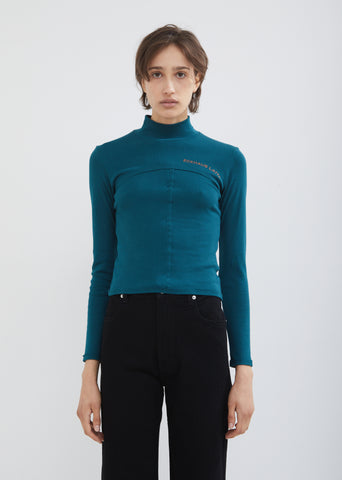 Lapped Baby Turtleneck