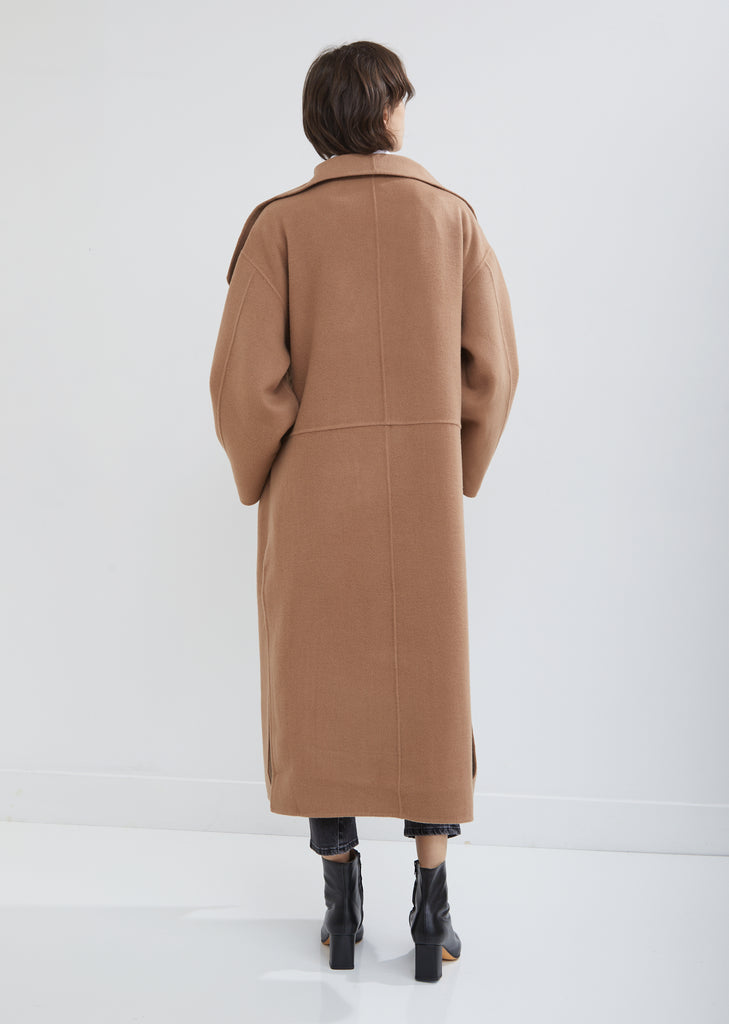 Annecy Wool Cashmere Coat
