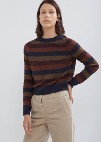 Shrunken Stripe Sweater