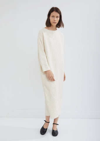 Jacquard Long Sleeve Dress