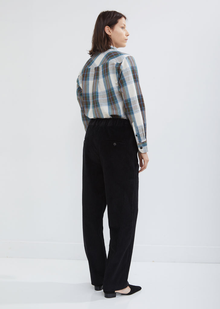 Meloy Corduroy Wide Leg Trousers