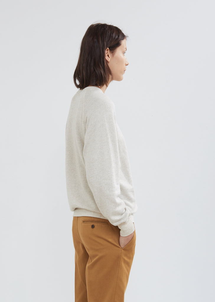 Fang Light Cotton and Linen Sweatshirt