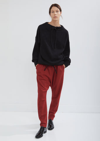 Wool Sarouel Pants