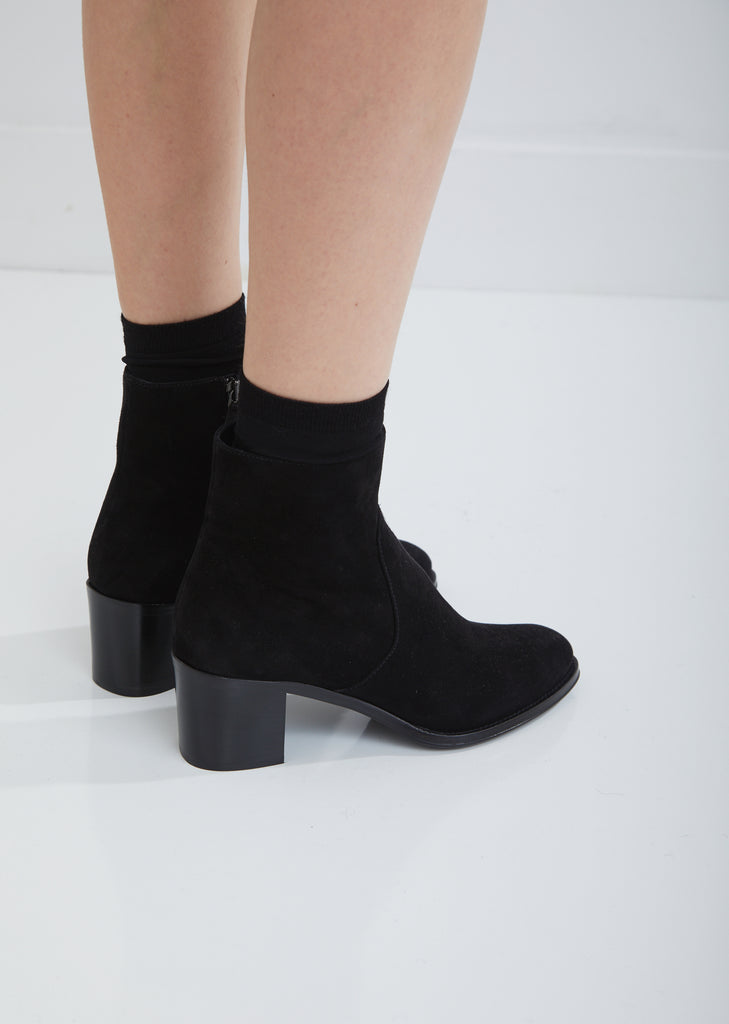 Alease Suede Ankle Boots