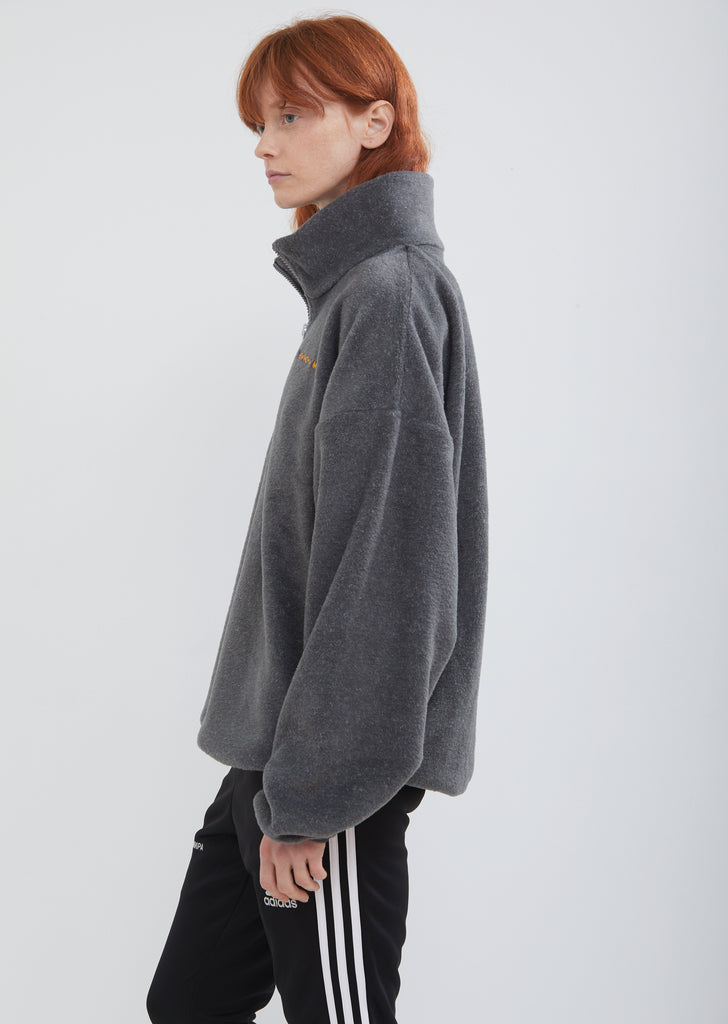 Adidas Fleece Zip Up Sweater
