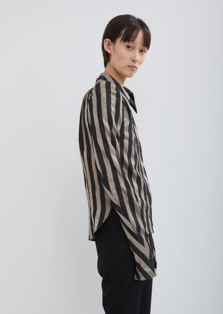 Shelley Striped Blouse