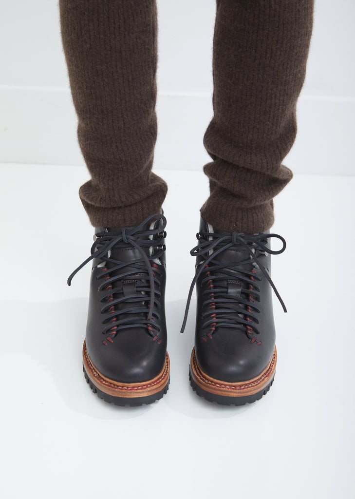 Whipstitch Hiker Wool Boots