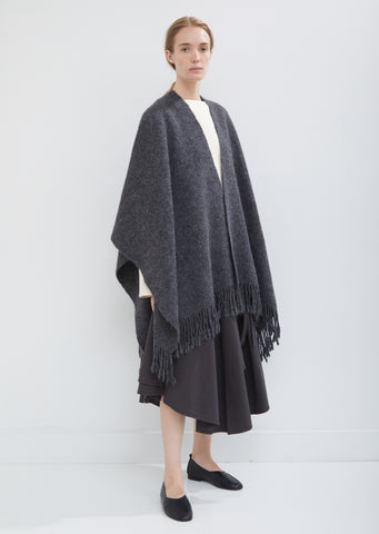 Handwoven Alpaca Pima Cotton Shawl