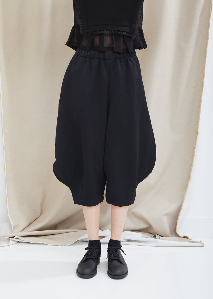 Satin Garment Treated Pants