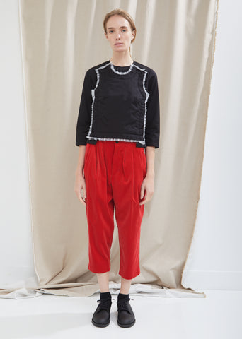Cotton Velveteen Trousers