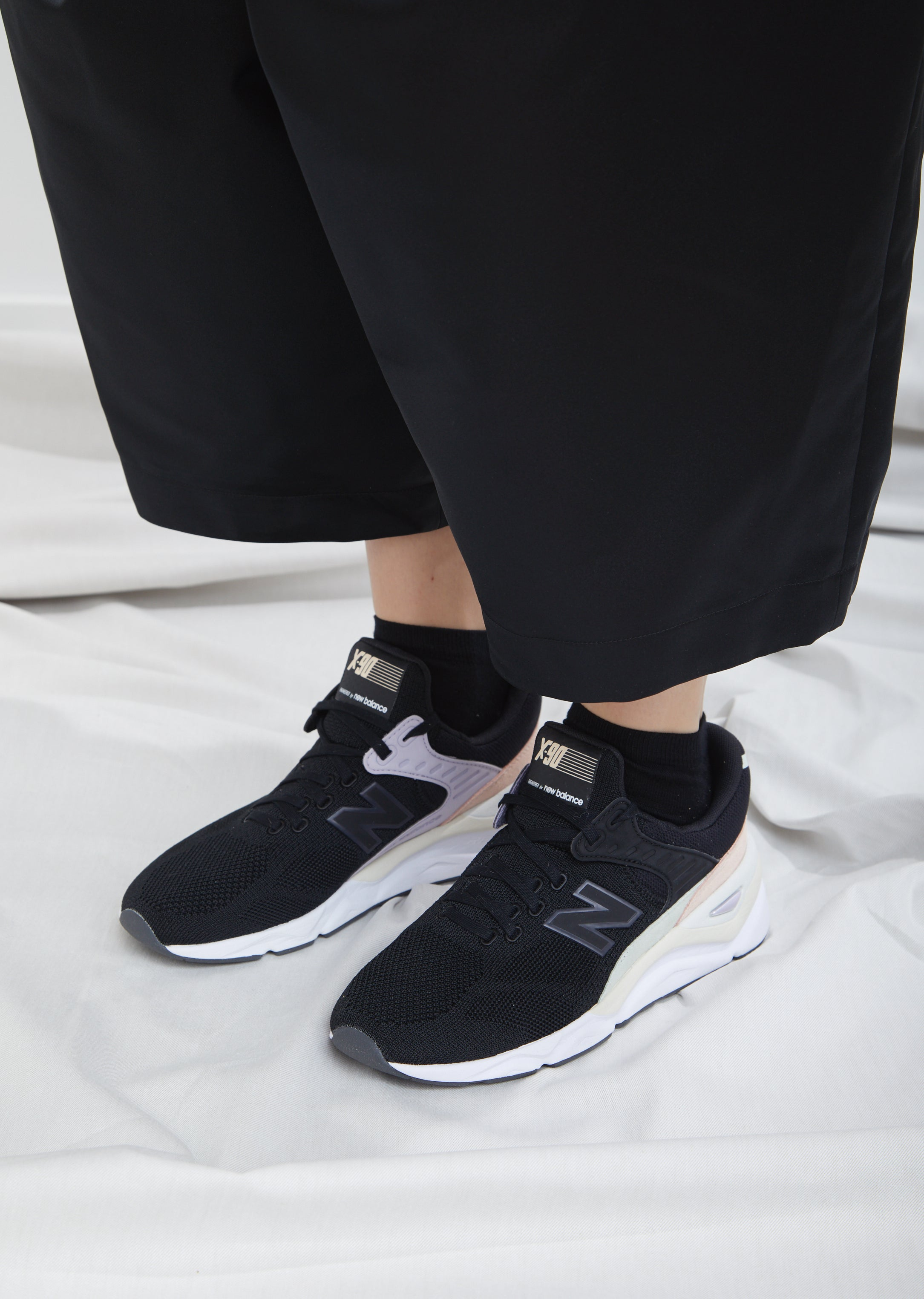 X90 Engineered Knit Sneaker by New Balance- La Garçonne 186e7422d55