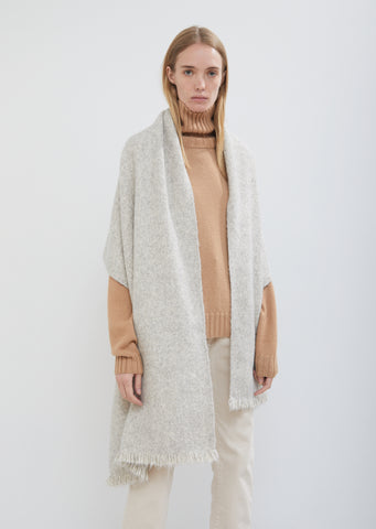 Handwoven Alpaca Pima Cotton Wrap