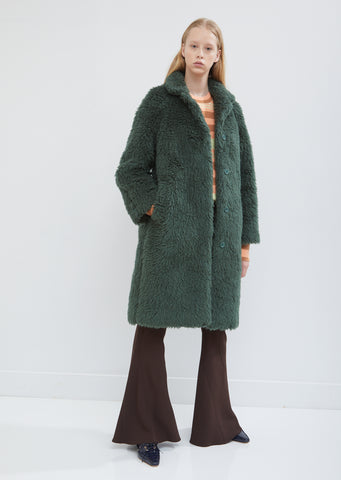 Ripley Wool Raglan Coat