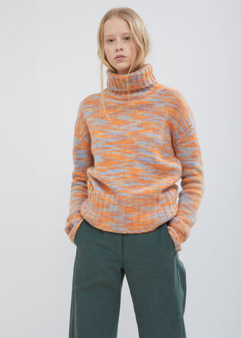 Parker Wool Silk Turtleneck Sweater