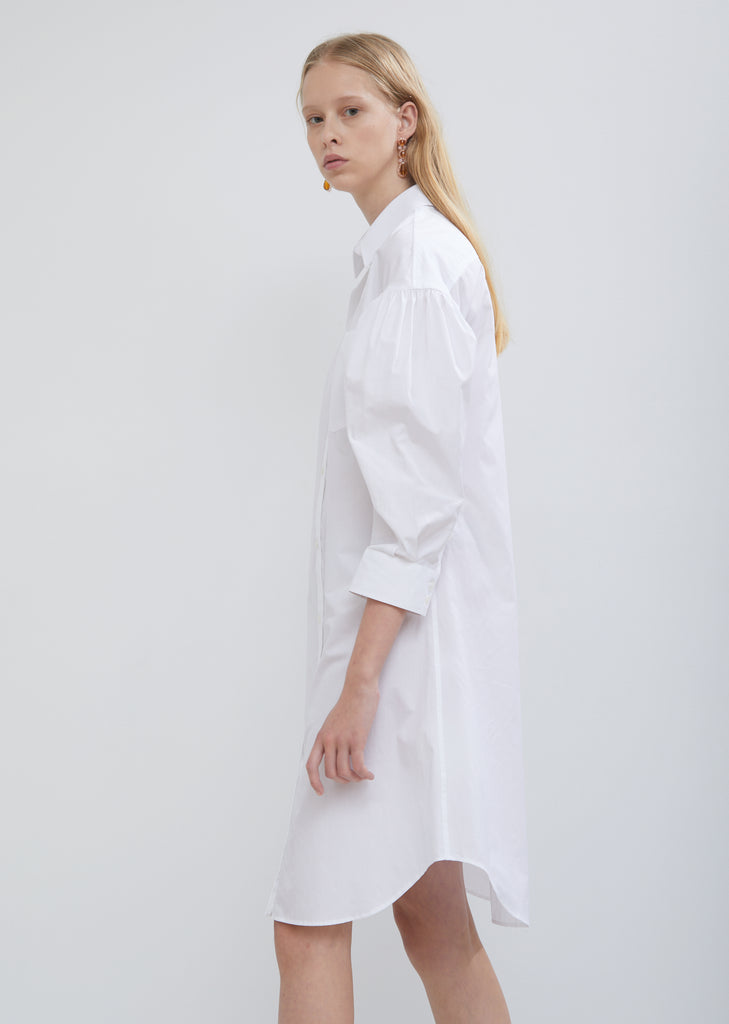 Drop Sleeve Shirt Dress