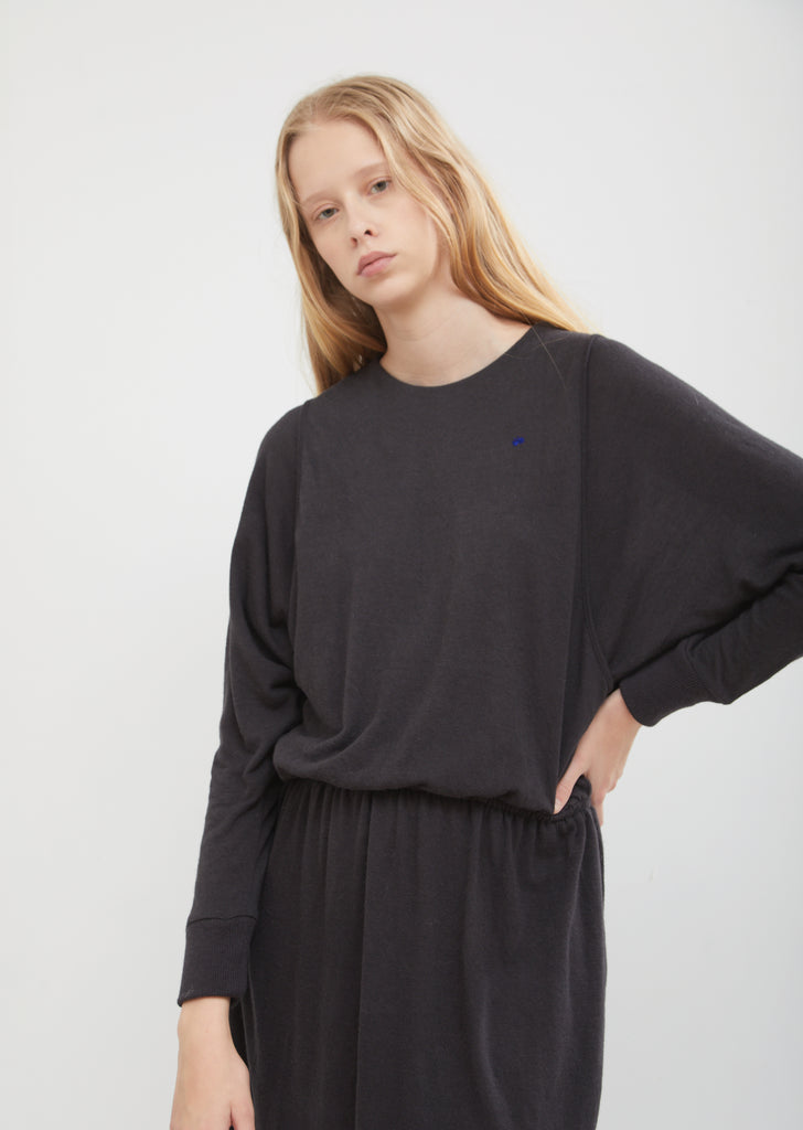 Cozy Angora Double Layer Dress
