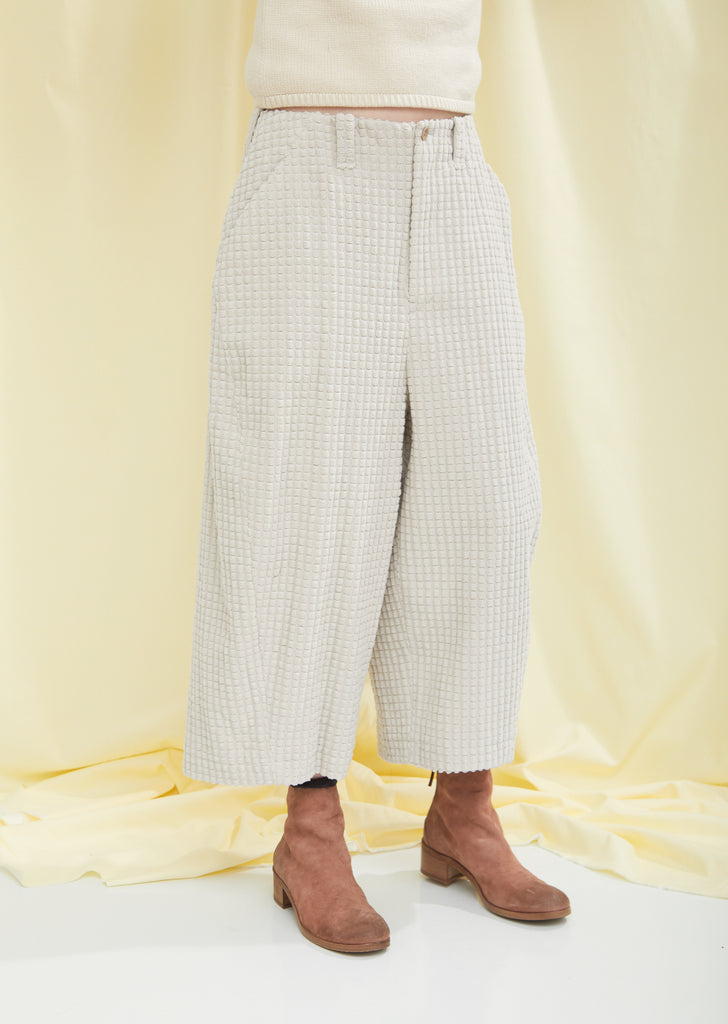 Moss Seed Cotton Pants