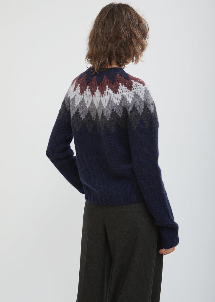 Diamond Fair Isle Jumper