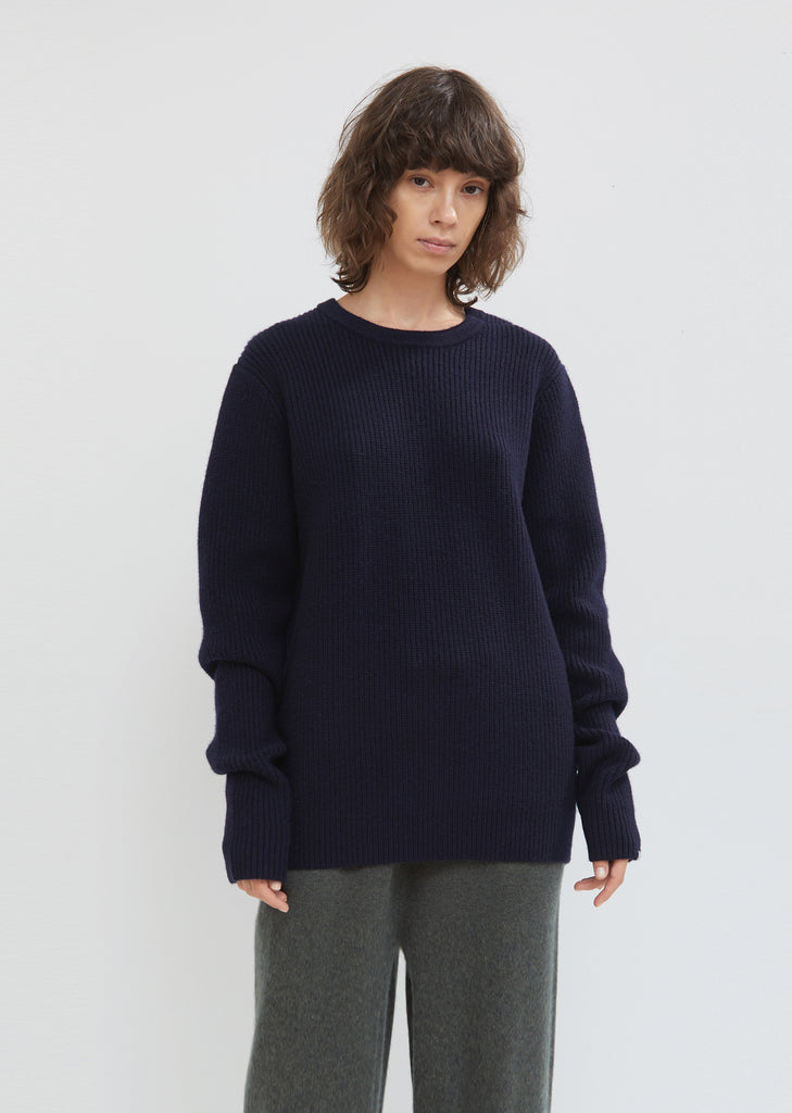 Be Classic Round Neck Cashmere Sweater