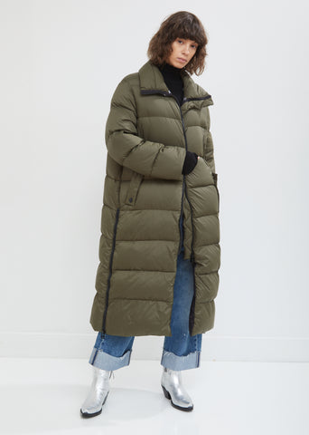 Ultra Light Long Fox Parka