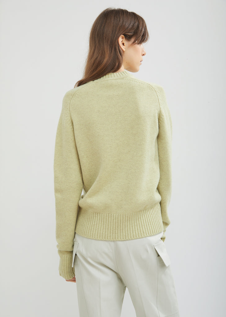 Glory Classic Round Neck Cashmere Sweater