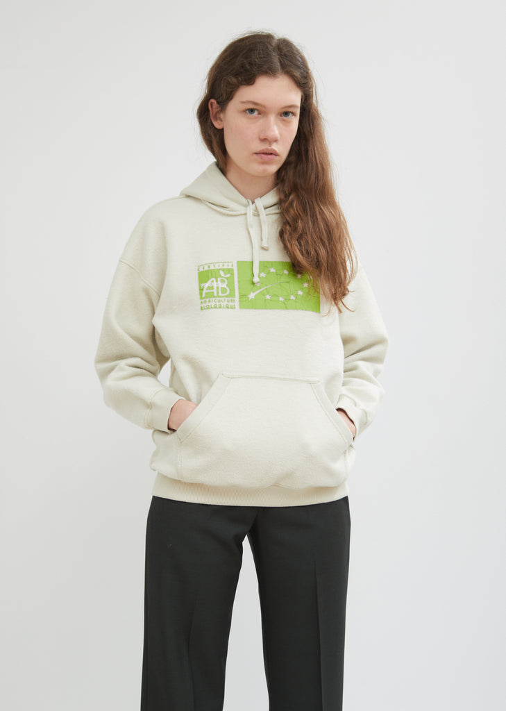 Graphic Inside-Out Fitted Hoodie
