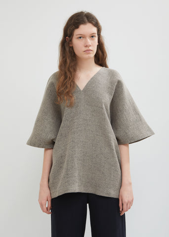 Poncho V-Neck Top