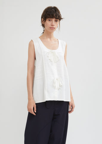 Broderie Anglaise Tank Top