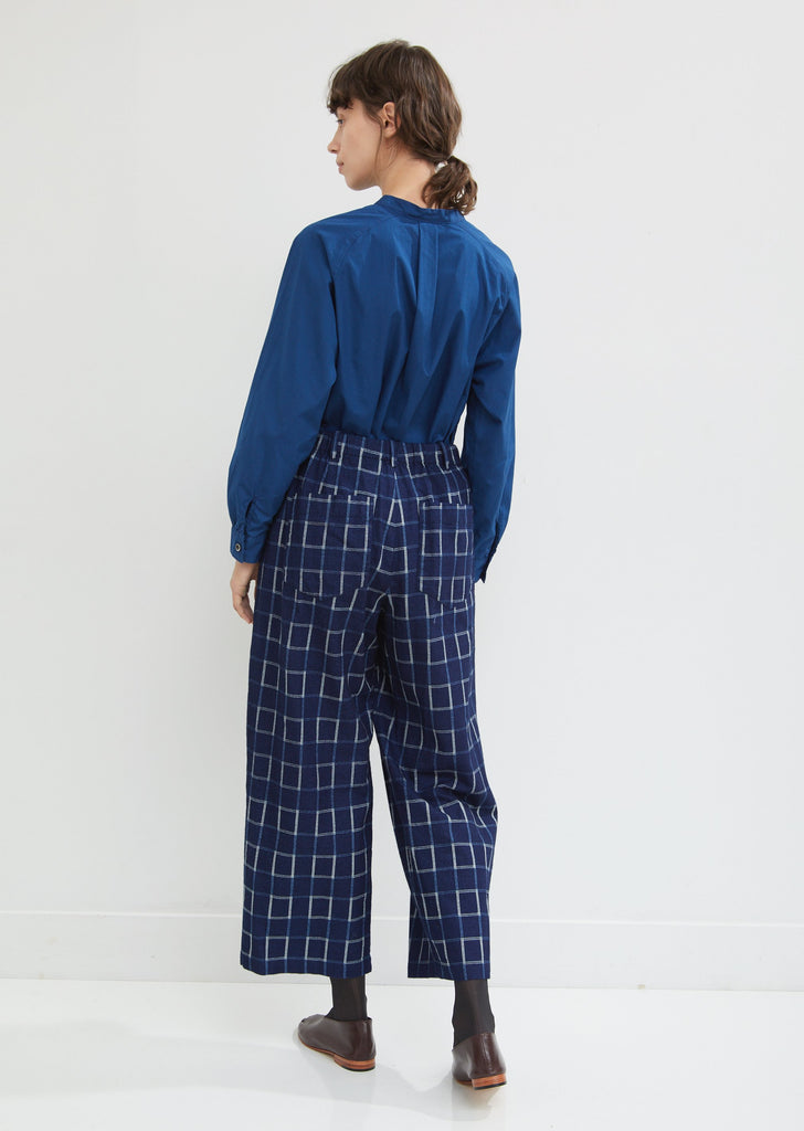 Flannel Relaxed Pants