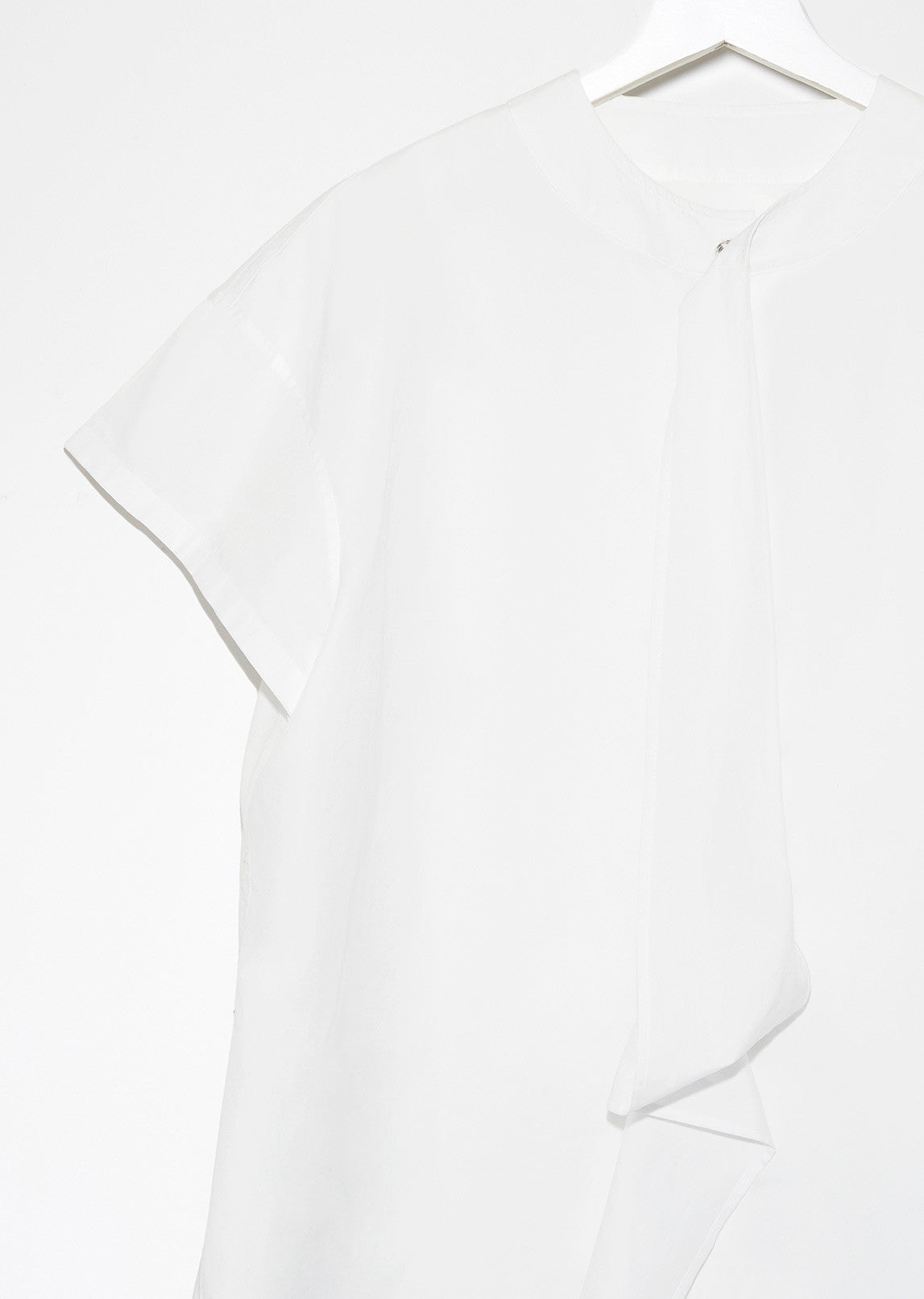 Drape Short Sleeve Blouse
