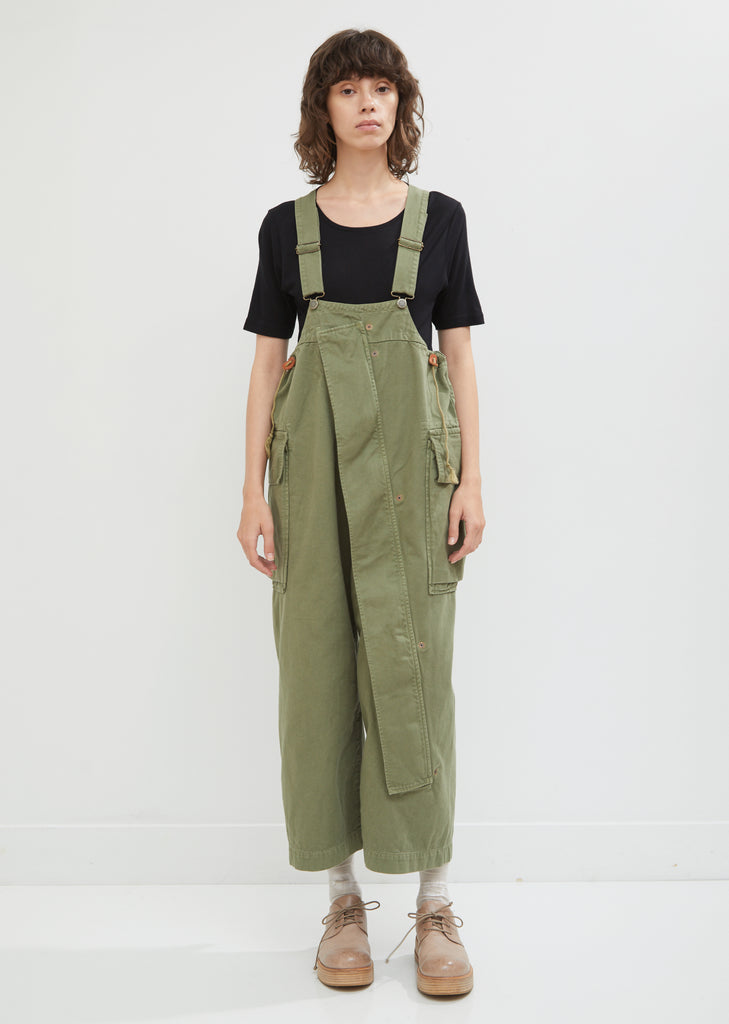 Katsuragi Cotton Sleeper Overalls