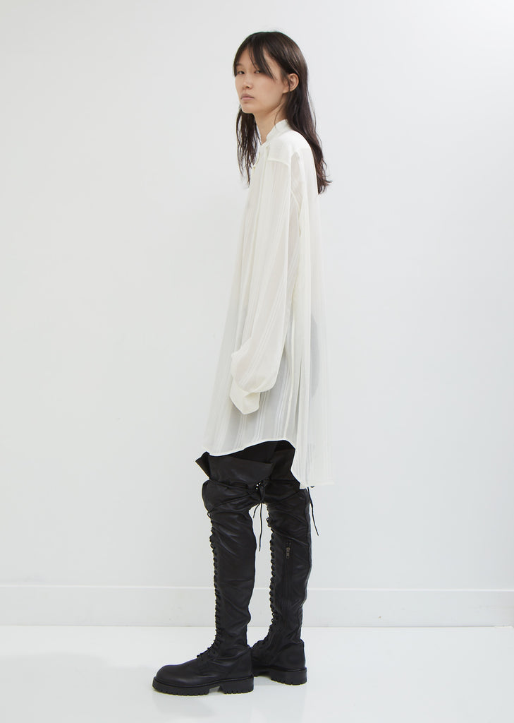 Bunya Off-White Blouse