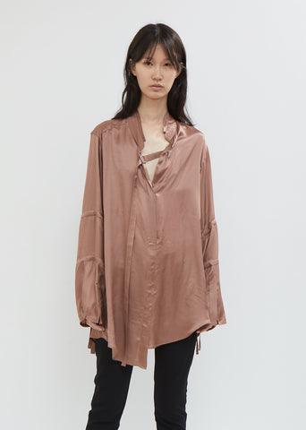 Nanette Silk Blouse with Ties