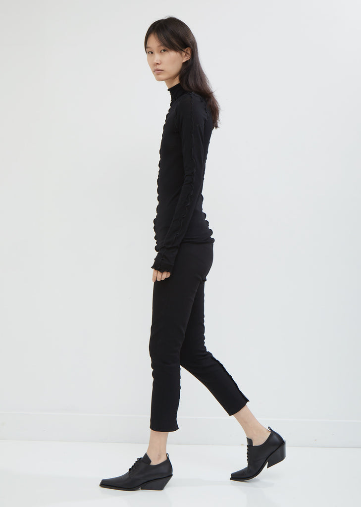 Boulevard Wool Stretch Trousers
