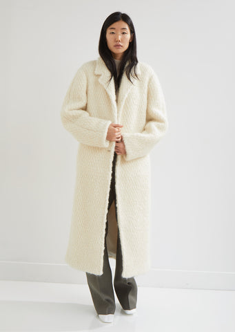 Frejus Wool Bouclé Coat