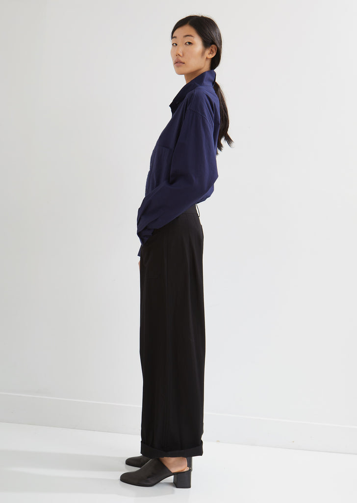Front Pocket Wide Leg Pants