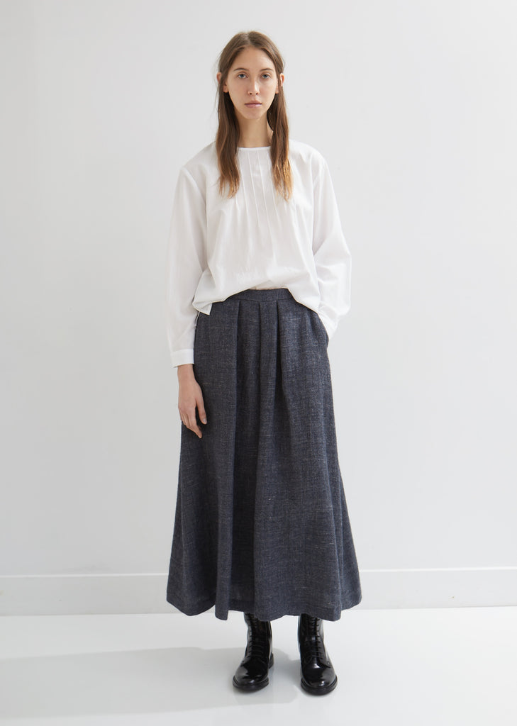 Wool Linen Hakama Pants