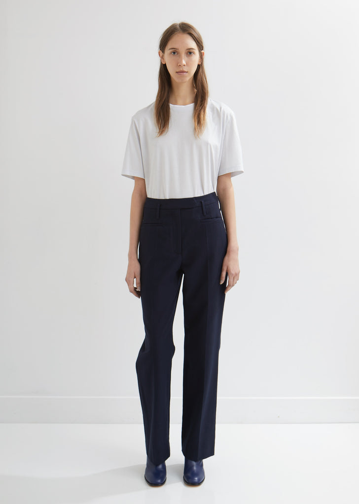 Pai Straight Leg Twill Trousers