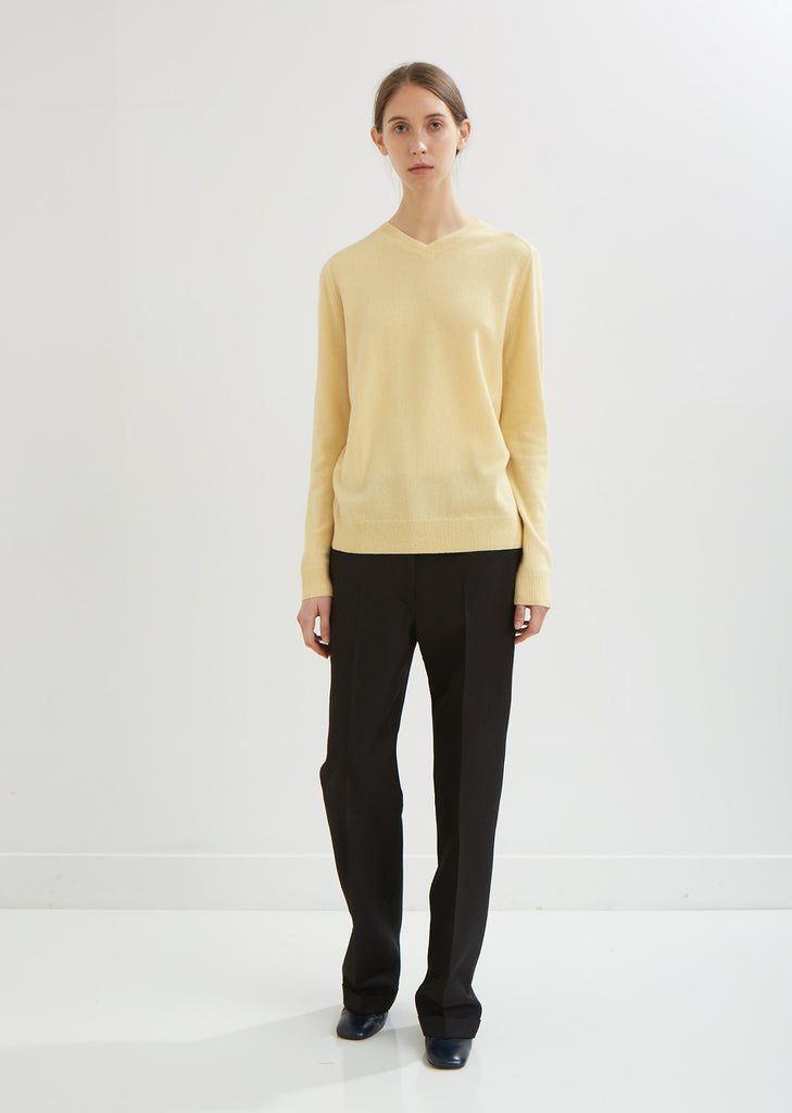 Margot Cashmere Reversible Pullover
