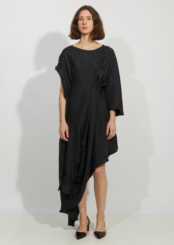Disoriented Shirt Dress