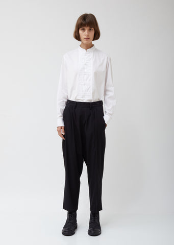 S-w Gather Button Pants