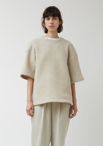 Felted Wool Pullover