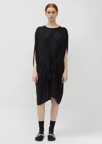 No.4 Front Knot Jersey Dress