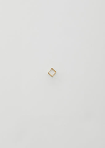 10MM 3D DIAMOND SQUARE EARRING 01