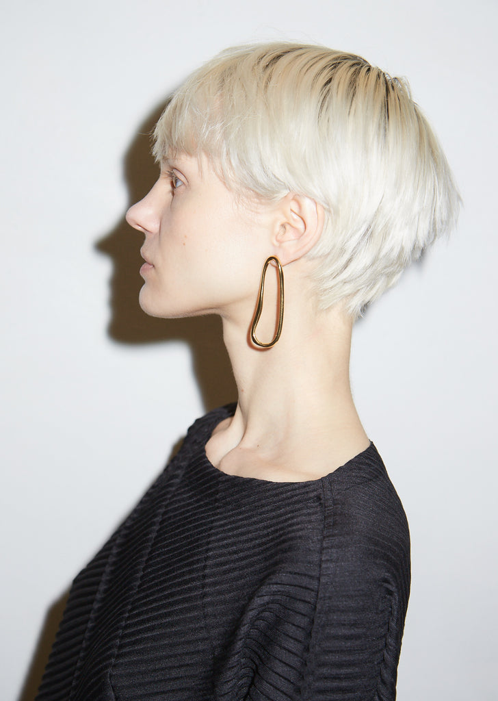 Gold Arp Earrings