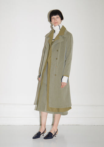 Devin Cotton Canvas Trench Coat