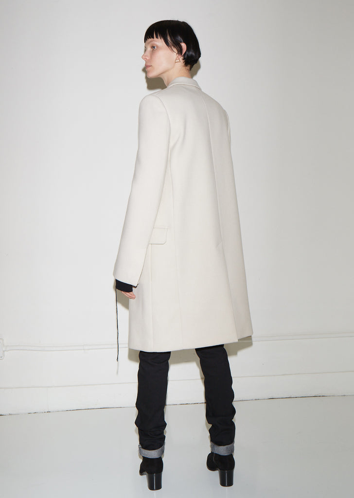 Essential Wool Crombie Coat