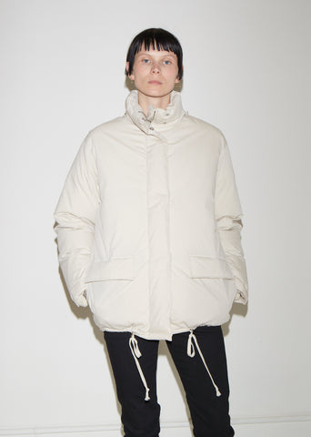 Convertible Cotton Puffer Jacket