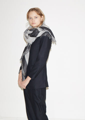 Ceremony Jacquard Wool Scarf