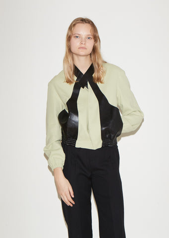 Cross Body Whip Blouson